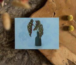 Kaart - begonia maculata