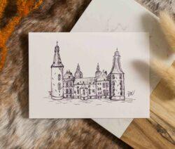 Kaart - kasteel hoensbroek