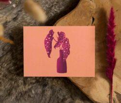 Kaart - herfst begonia maculata